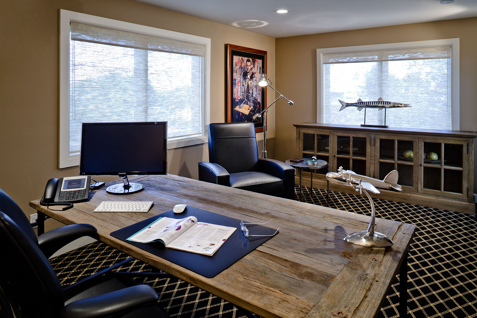 Office - Colleen Pawling Interior Design