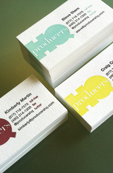 Producer's HQ Business Cards