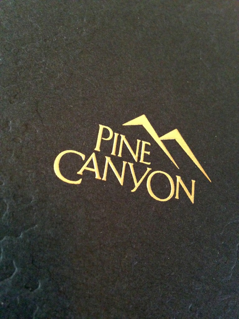 Pine Canyon Marketing Material